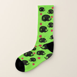 Hedgehogs & Strawberries - Socks 1