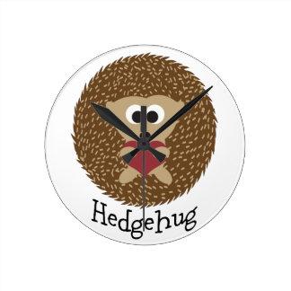 Hedgehug Hedgehog Clock