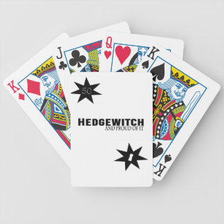 Hedgewitch and Proud of It Bicycle Playing Cards