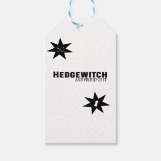 Hedgewitch and Proud of It Gift Tags