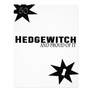 Hedgewitch and Proud of It Letterhead
