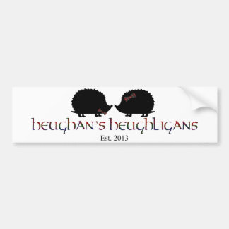 Hedgie Love Bumper Sticker