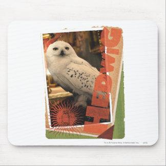 Hedwig 1 tapis de souris