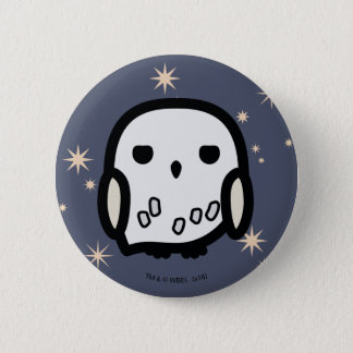 Hedwig Cartoon Character Art 2 Inch Round Button