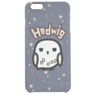 Hedwig Cartoon Character Art Clear iPhone 6 Plus Case