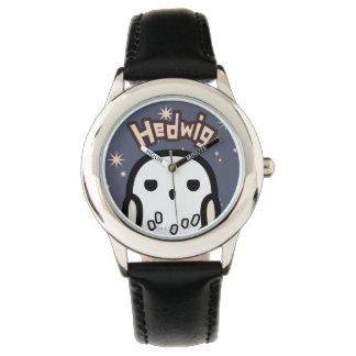 Hedwig Cartoon Character Art Wristwatches