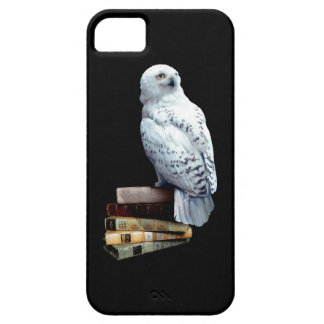 Hedwig on books iPhone 5 cover
