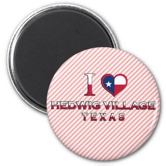 Hedwig Village Texas Magnet