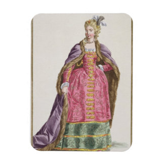 Hedwige Marquise d Arquien 1373-99 Queen of Pol Rectangular Magnets