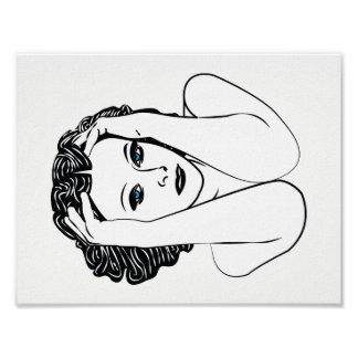 Hedy Lamarr Poster
