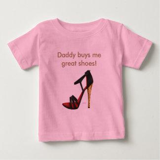 Heeled Evening Sandal Cotton Infant T-Shirt