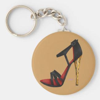 Heeled Evening Sandal Key Chain