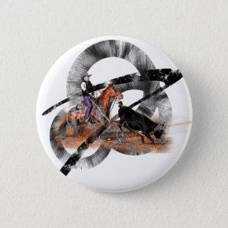 Heeler 2 Inch Round Button