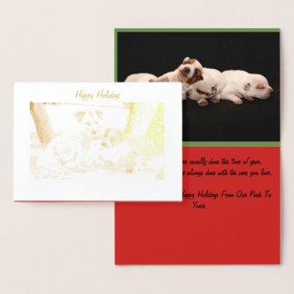 Heeler Christmas Card
