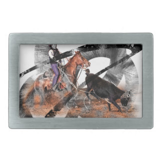 Heeler Rectangular Belt Buckles