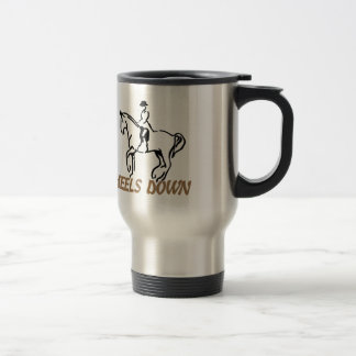 Heels Down Travel Mug
