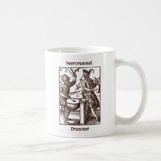 Heertrummel - Drummer Basic White Mug