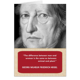 Hegel Anti-Valentine's Day Card