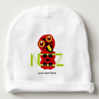 Hei Tiki Maori Design NZ Maori Design Baby Beanie