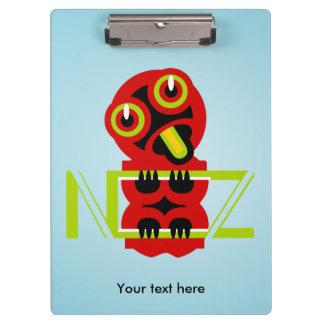 Hei Tiki Maori Design NZ Maori Design Clipboards