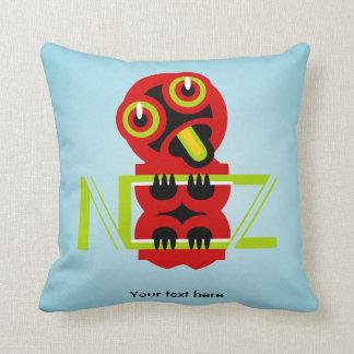 Hei Tiki Maori Design NZ Throw Pillow