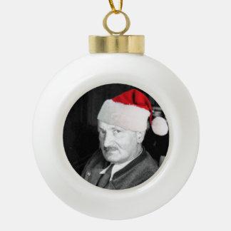 Heidegger Christmas Ornament