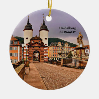 HEIDELBERG, BRIDGEGATE CERAMIC ORNAMENT