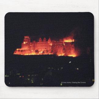 Heidelberg Castle Burning Mouse Pad