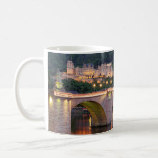 Heidelberg evening coffee mug
