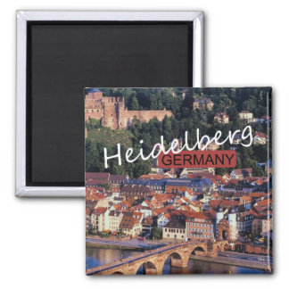 Heidelberg Germany Travel Photo Souvenir Magnet
