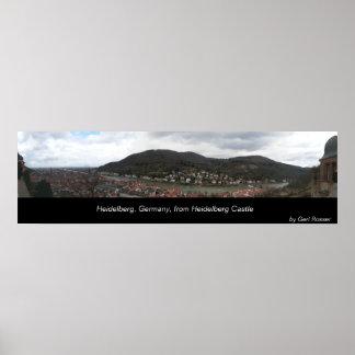 Heidelberg Panorama Poster