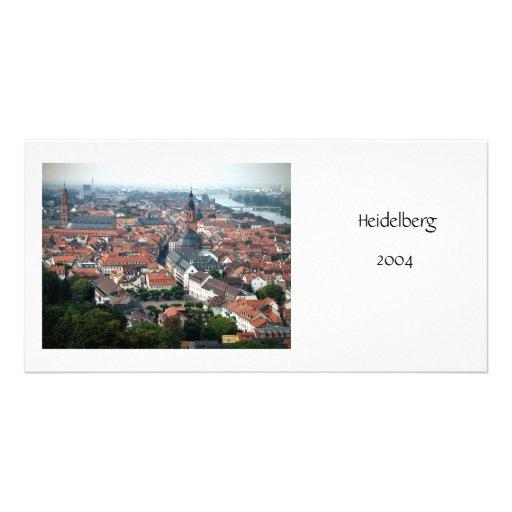 Heidelberg Customized Photo Card