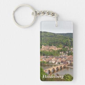 Heidelberg Single-Sided Rectangular Acrylic Keychain