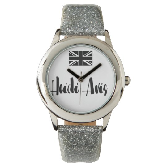 Heidi Avis watch union jack