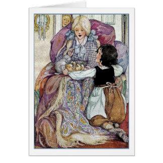 Heidi, Clara and the Kittens, Card