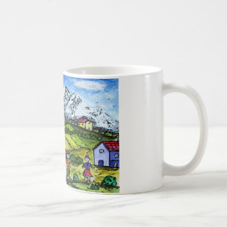 Heidi Country Coffee Mug