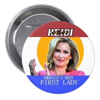Heidi Cruz for First Lady 3 Inch Round Button