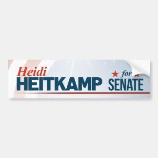 Heidi Heitkamp for Senate Bumper Sticker
