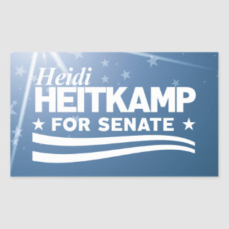 Heidi Heitkamp for Senate Sticker