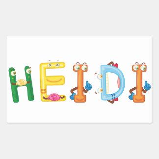 Heidi Sticker