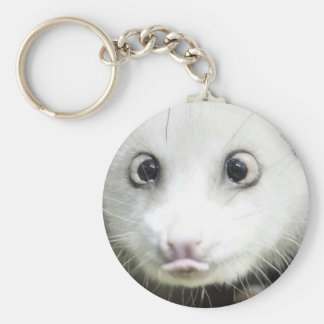 Heidi The Cross Eyed Opossum Keychain