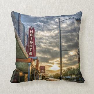 Heights At Morning Light Throw Pillows