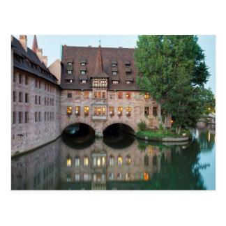 Heilig Geist Spital, Nürnberg Postcard
