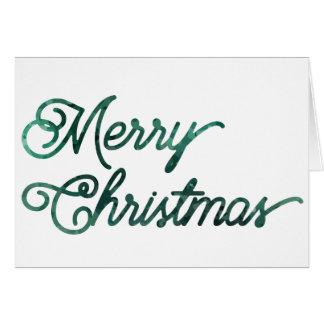 heim&lore Merry Christmas Evergreen Card