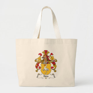 Hein Family Crest Large Tote Bag