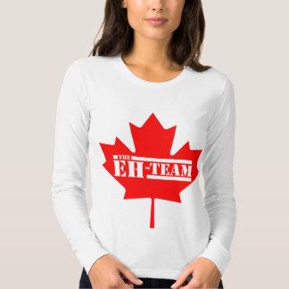 Hein la feuille d'érable du Canada d'équipe T-shirts