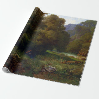 Heinrich Dreber Mountain Wrapping Paper