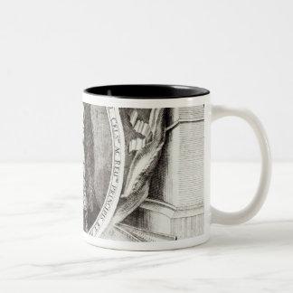 Heinrich Ignaz Franz von Biber Two-Tone Coffee Mug