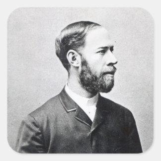 Heinrich Rudolph Hertz Square Sticker