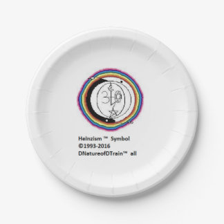 Heinzist Logo Paper Plates